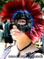 Punk Rock Mask by FaerieWench