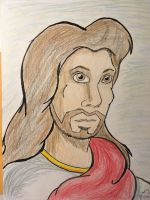 Jesus Christ in living color by PeterSFay