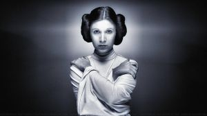 Carrie Fisher Princess Leia XLII by Dave-Daring