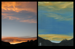 """""""Carlsbad Sunset"""" Duo by DeathlessLord"""