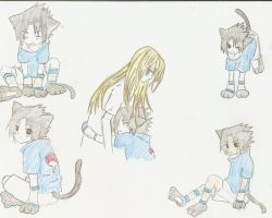 SASUKE KITTY-CHAN 3 by HimekoHimemiya1313