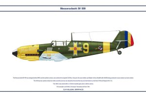 Bf 109 E-3 Romania 2 by WS-Clave