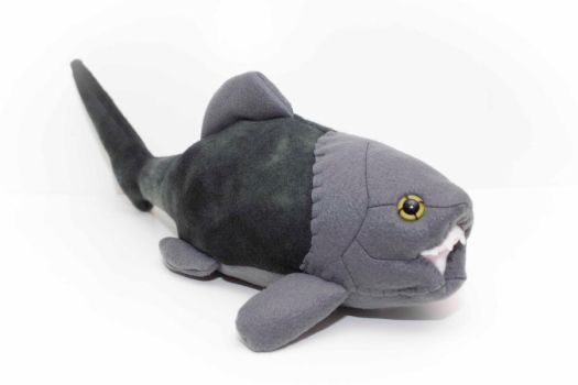 Dunkleosteus in Grays by Paleogirl