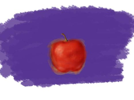 Apple Painting by DannySheds