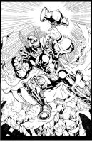 Beta Ray Bill inks by madman1