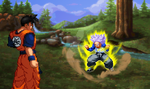 Trunk's Training DBZ: Recreation by sonicthehedgehog19