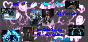KitanaXSubZero wallpaper 3 by MissLadyYuna1