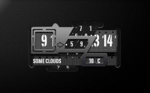iZono Super Clock for xwidget by jimking
