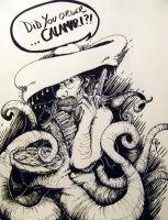 Senor Calamari by NateTheKnife