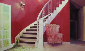 Desertion Stairwell by Beefsoup