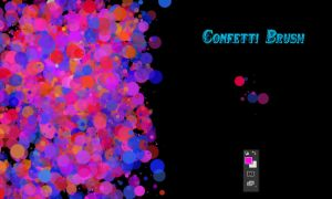 Confetti Brush by Dave1815