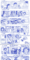 2009 Diary Comic - June. by taeshilh