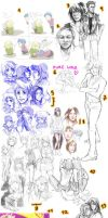 mega sketchdump 2 XD by Razuri-the-Sleepless