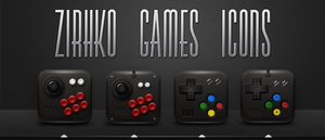 Games icons ZirhkO by DjeTouch59