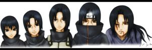 Itachi evolution by zal-sanity
