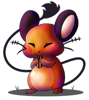 Dedenne by DrDoomy