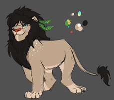 Lion Design Trade by Amiookamiwolf