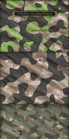 6 Tileable Camouflage Patterns by MuzikizumWeb