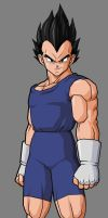Vegeta Jr. adult by alessandelpho