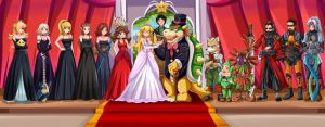 Wedding day-Bowser's dream by SigurdHosenfeld