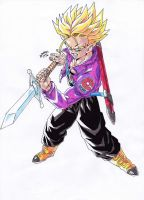 Dragonball Z - Trunks del Futuro by TriiGuN