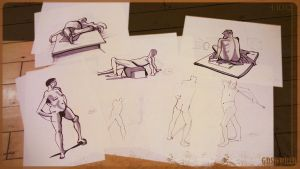 Markers: life drawing session by GDSWorld