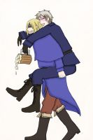 Request: FruPru Drunken Night by Awesome-Anime-Lover