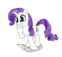 Rarity Awesome Face by UlyssesGrant
