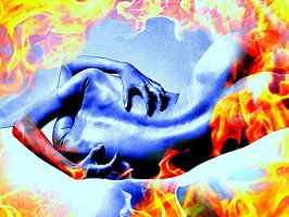Self-agression-in Flame by YOKOKY