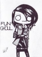 Fun Ghoul by shinigamixandie