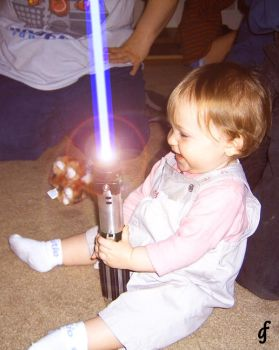 Young Padawan In Training by bigdaddyglen69