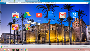 GOOGLE CHROME THEME LIGHTEN by noahjd