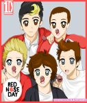 One Direction Red Nose Day by OneDirectionFanJohn
