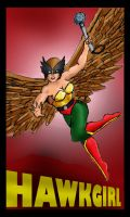 Hawkgirl 2011 by Andared