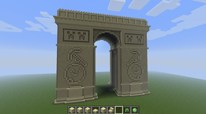 Minecraft - Arc de Triomphe by SlimyCraft