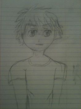 2011 Anime boy drawing by faust2152