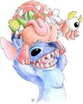 Daily Drawing Day 214 Happy Stitch Day! by MidnightHuntingWolf