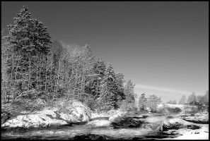 A morning on the rapids by eswendel