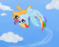 Up'n'Away by RunbowDash