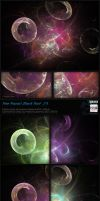 Fractal Stock Pack 23 - Doughnut (transparent PNG) by Hexe78