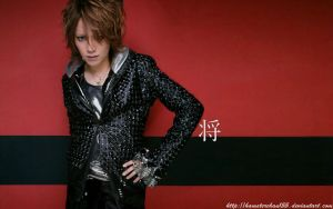 shou red wallpaper by hamsterchan155
