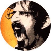 Frank Zappa by red-wine