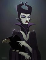 Maleficent by poopysocks