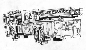 Fire Truck by ponch414