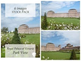 Royal Palace of venaria - Park View - Stock pack by XiuLanStock