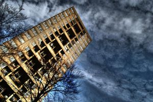 London Tower Block HDR by nat1874