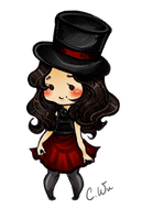 Dapper Self Portrait Chibi by Ornithogale