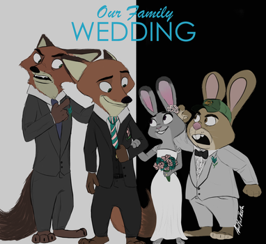 Our Family Wedding (AU) by KungFuFreak07
