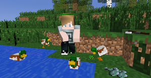 Pewdie and the DUCKS by ClanWarrior