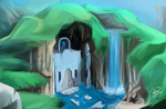 Some water temple thingy ._. by wtfisalinh